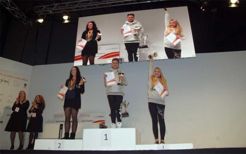 El campeonato Nailympion Spain celebrado en el Salón Look Madrid aumenta su participación más del 50%
