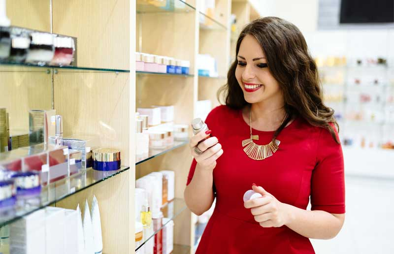 ventas de perfumería y cosmética