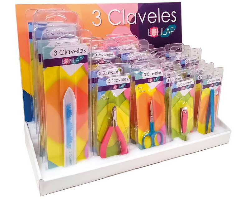 Lolilap 3 Claveles, utillaje para una manicura suave y agradable