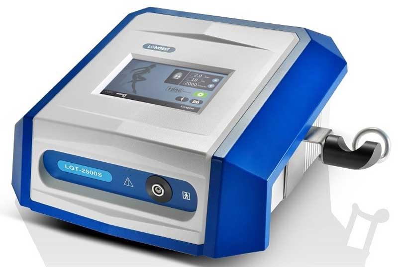 Onda de Choque Radial Portátil LGT-2500S, tratamiento para combatir la celulitis