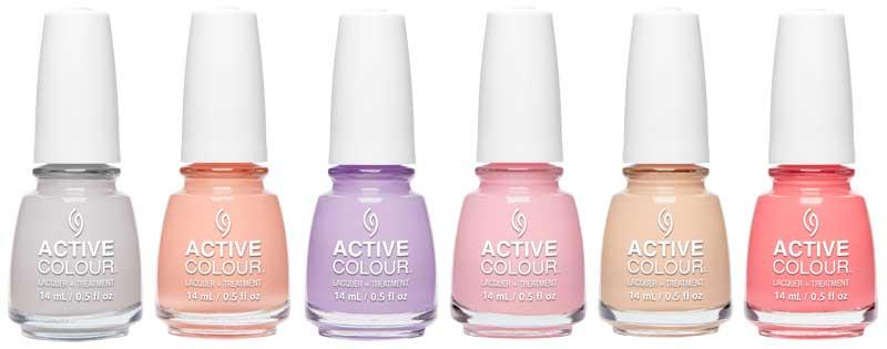 China Glaze presenta su nueva línea Active Colour: tratamiento + color
