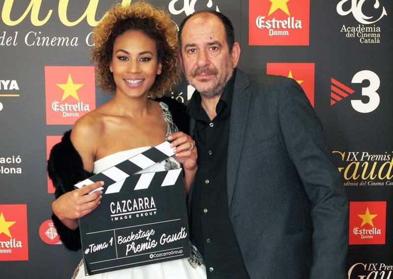 Cazcarra Group, un año más maquillador oficial de los IX Premios Gaudí