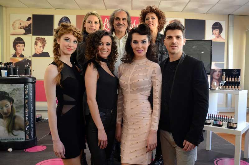 Show de maquillaje y moda de la mano de Juan Ramírez en Granada