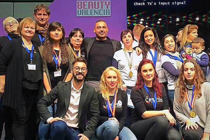 Amalú Harmony España e Inupel consiguen tres premios en la Feria Beauty Valencia