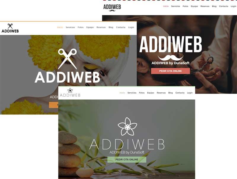 DunaSoft presenta Addiweb, una moderna web para cada centro de belleza