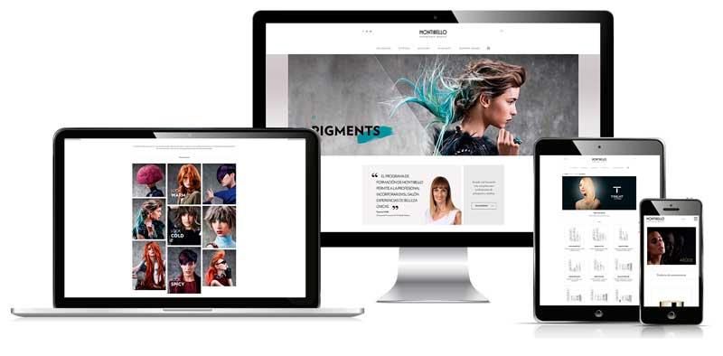 Nueva web interactiva, visual e intuitiva de Montibello