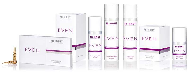Ya es posible tener una piel clara, luminosa, borrando los efectos de la edad gracias a Even