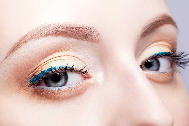 Lápiz Satin Azul, delineador de ojos waterproof de larga duración de Ten Image