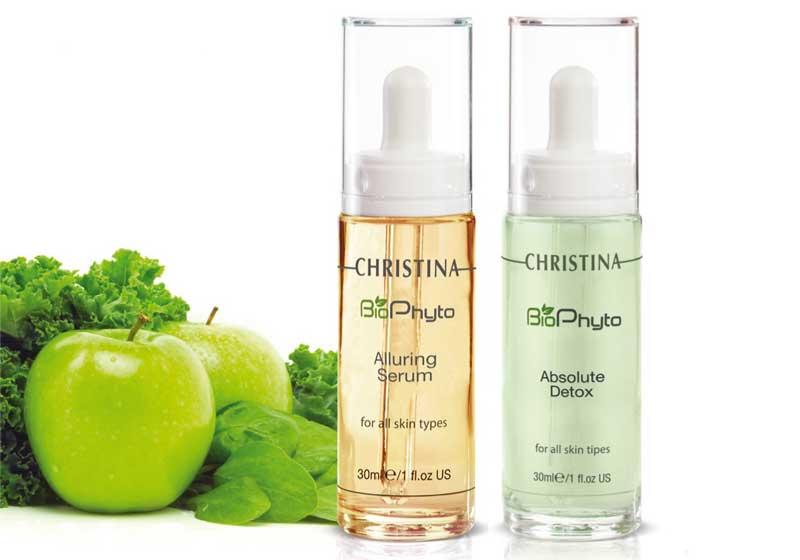 Cuida la piel con los sérums Biophyto de Christina Cosmetics