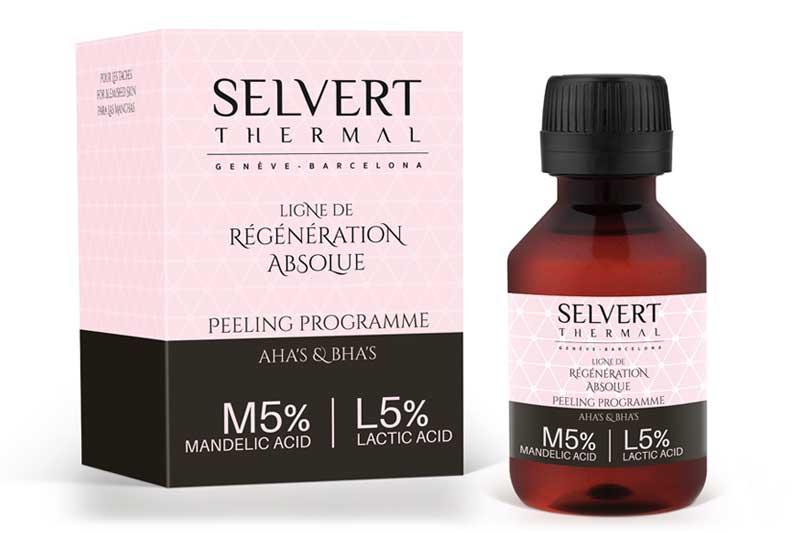 Selvert Thermal lanza una línea de peelings para las esteticistas dentro de la Ligne de Régénération Absolue