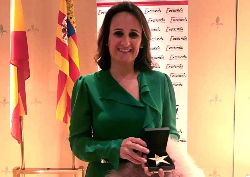 Silvia Oliete premiada con la Estrella de Oro a la Excelencia Profesional