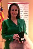 Silvia Oliete, premiada con la Estrella de Oro a la Excelencia Profesional