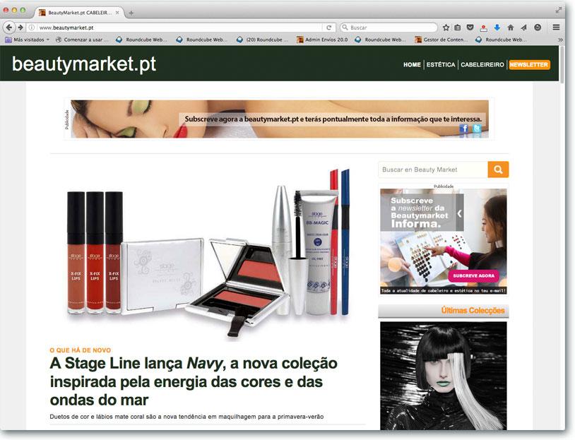 Nuevo portal Beauty Market Portugal