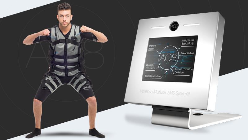 AQ8 System - Electroestimulación muscular