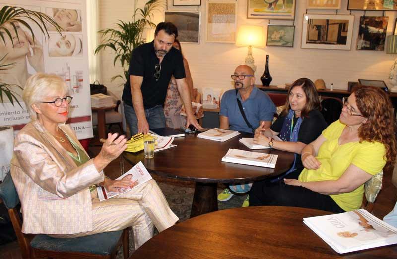 Christina Zehavi regresa a Barcelona coincidiendo con el relanzamiento de Comodex