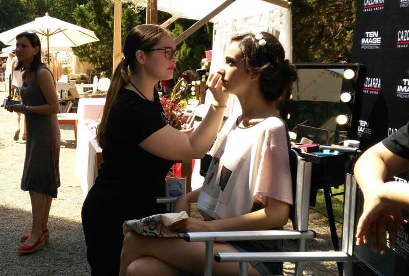 Cazcarra Image Group, maquillador oficial de The Wedding Market