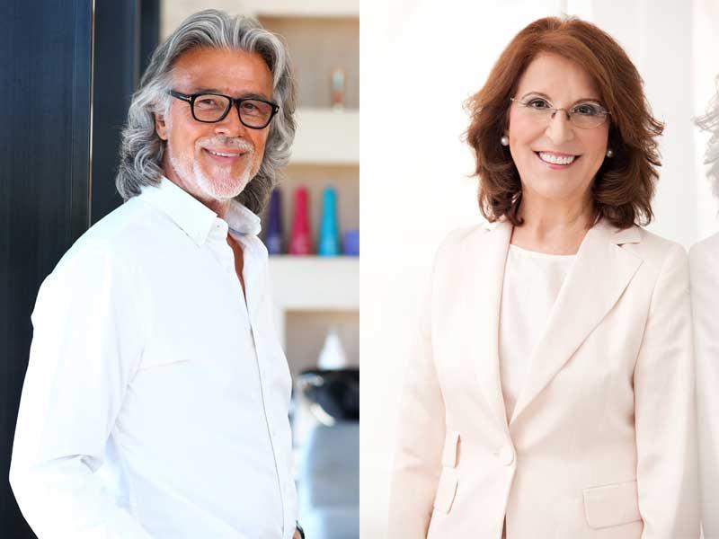 Felicidad Carrera y Alberto Cerdán, premiados con el galardón de honor en la V edición de los premios Salón Look