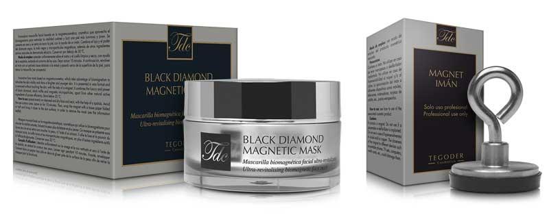 Black Diamond Magnetic Mask, innovadora mascarilla facial ultrarrevitalizante