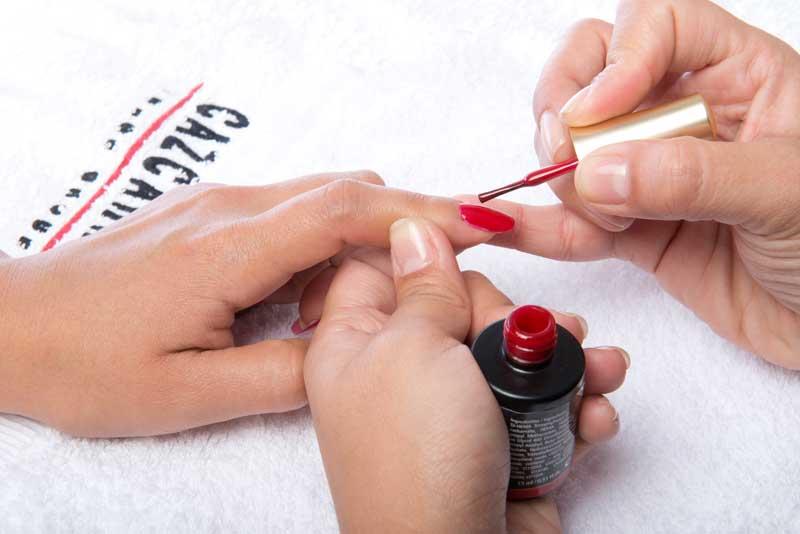 Paso a paso manicura Rojo por Ten Image