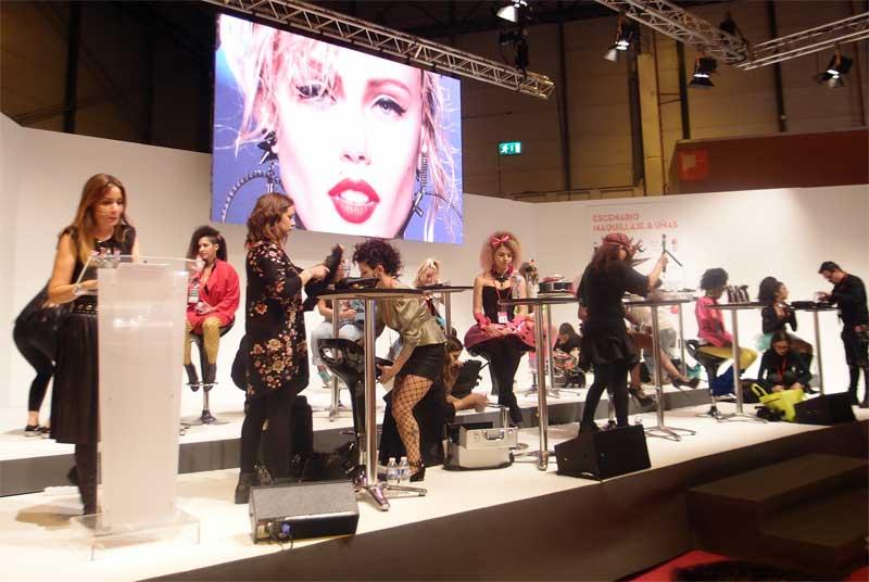 Los campeonatos de maquillaje de Salón Look triunfan en asistencia e innovación