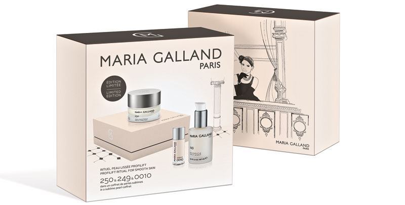 Maria Galland - Coffrets minitallas Noël 2017