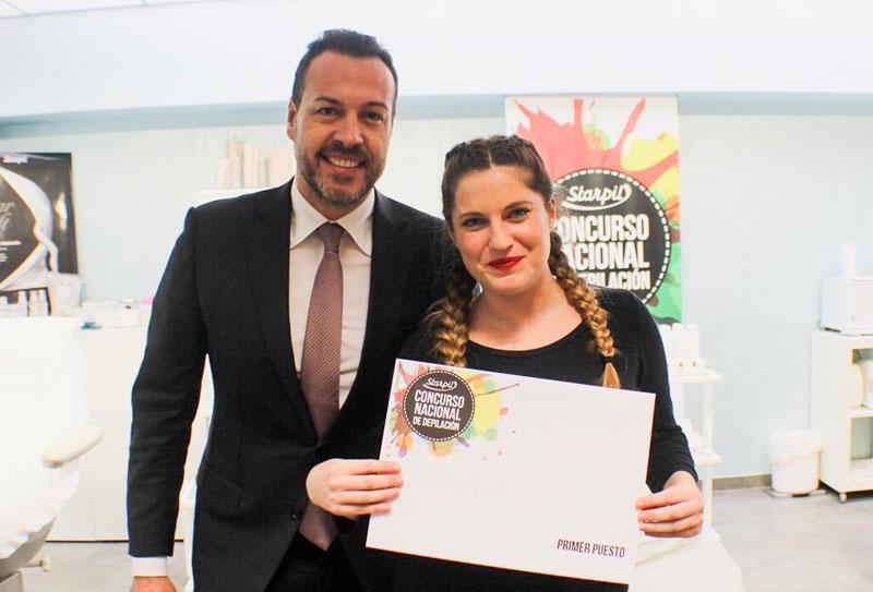 Ganadores del II Concurso Nacional de Depilación de Starpil
