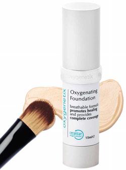 Oxygenetix, maquilhagem com fórmula transpirável que favorece o processo curativo da pele