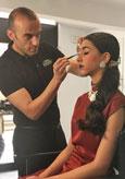 Más de 30 maquilladores asisten a la última clase magistral de Ten Image en Madrid
