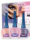 Nuevos esmaltes fotocromáticos que cambian de color con el sol, de Masglo
