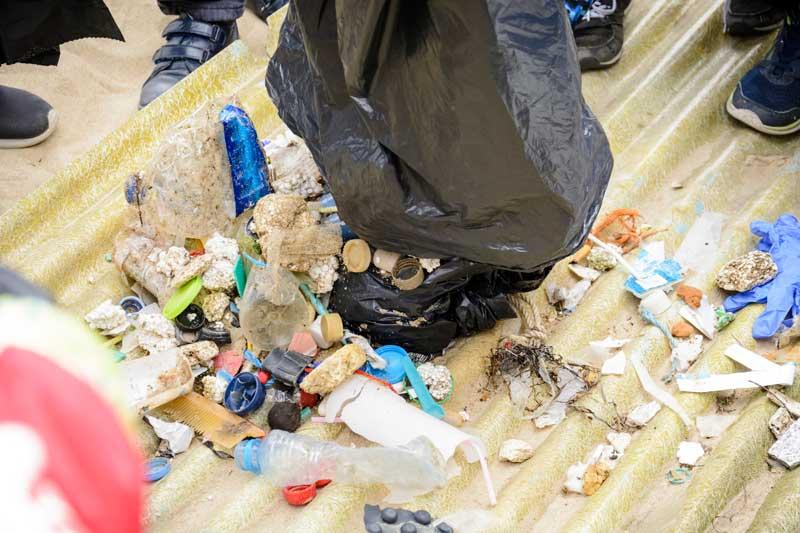 procesado de residuos plásticos