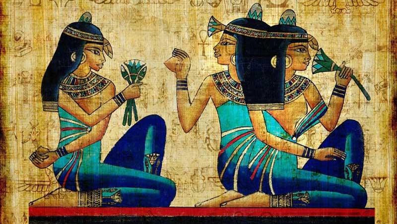 Cosmetica en el antiguo egipto
