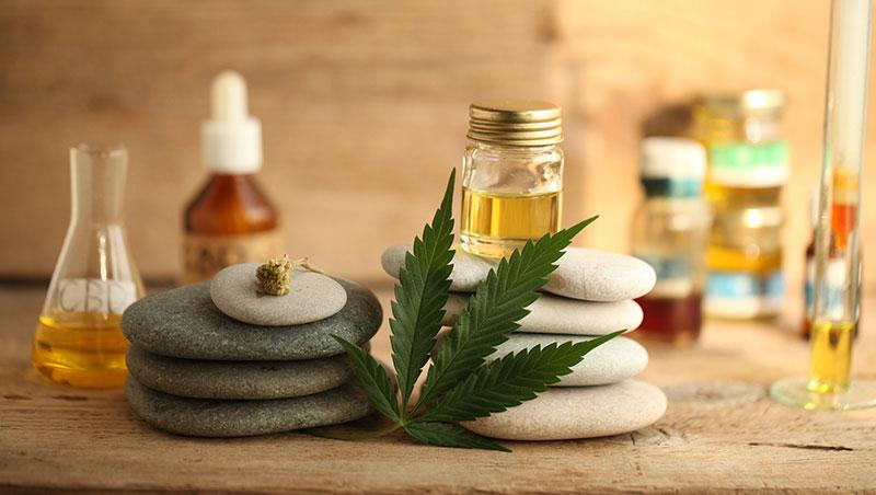 Ritual de belleza con cannabis