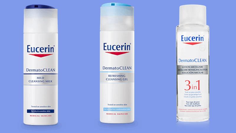 Linea de limpieza facial de eucerin