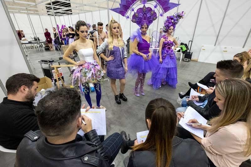 Escenario con modelos Beauty Valncia