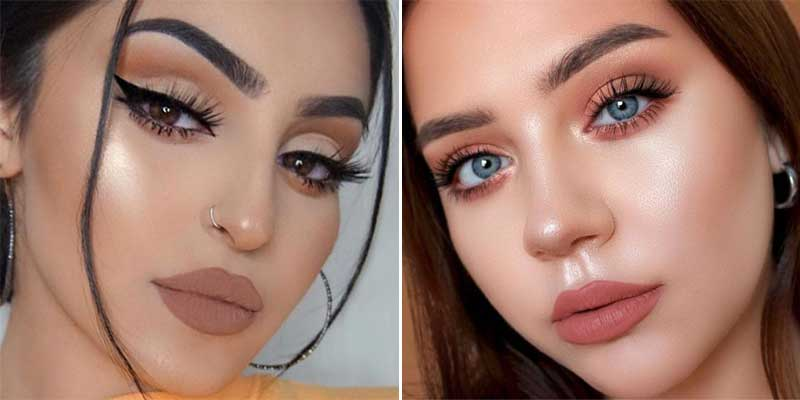chicas con maquillaje