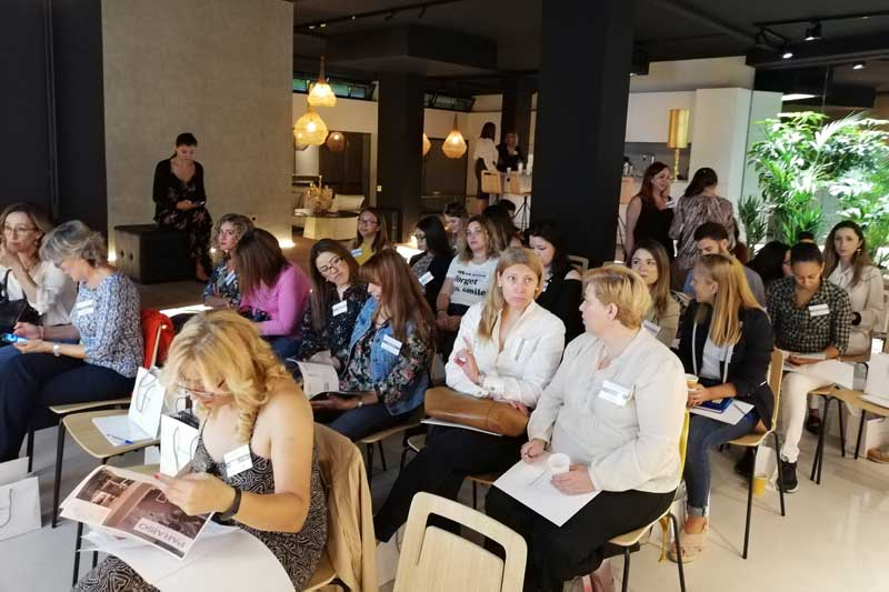 Presentación de Paraíso Cosmetics en Studio Beauty Market Madrid