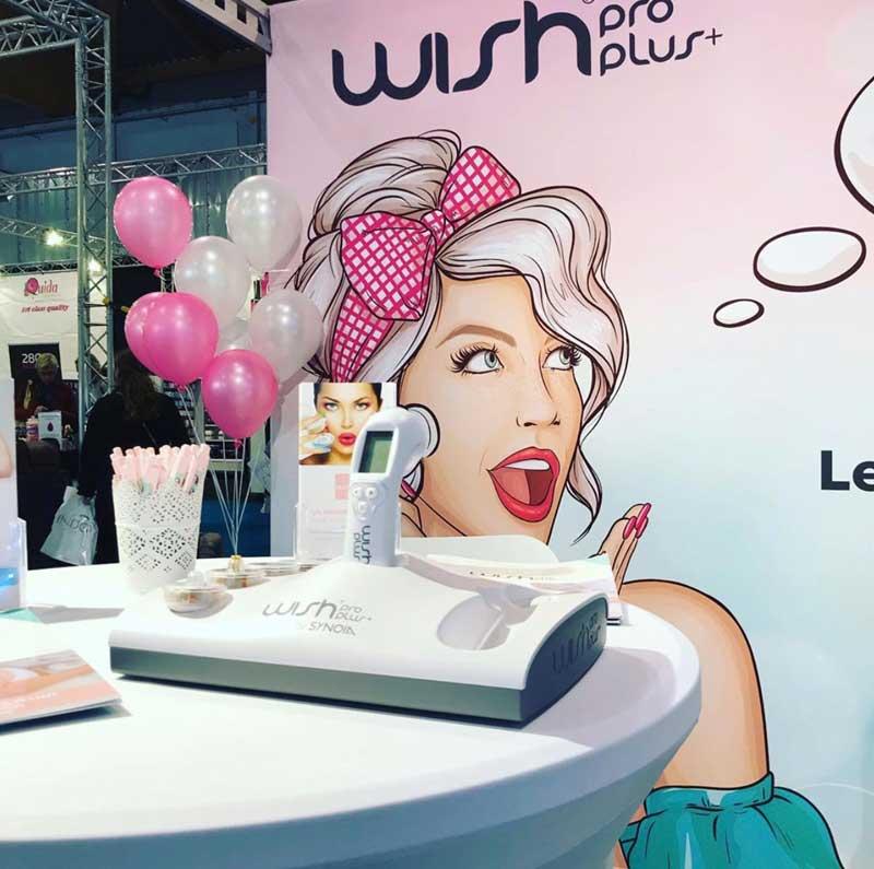 Estand Wishpro en Salon Look
