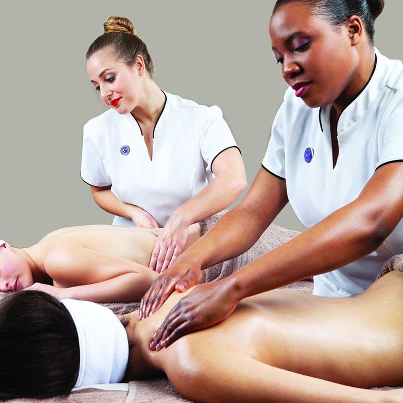 Chicas dando masaje Cidesco