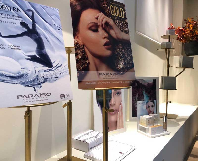 Presentacion Paraíso Cosmetics en Studio Beauty Market Madrid