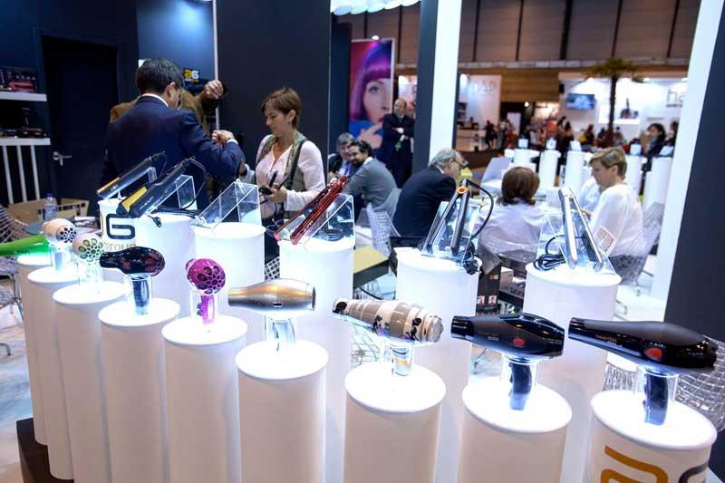 estand de peluquería en una edición anterior de salón look