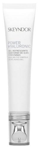 Power Hyaluronic - Gel refrescante contorno de ojos y pestañas