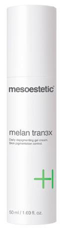 melan tran3x daily depigmenting gel cream