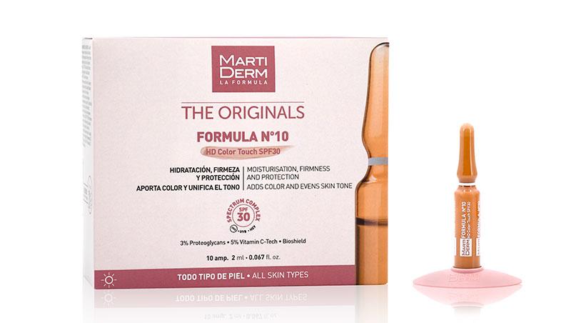 MartiDerm - Fórmula Nº10 HD Color Touch SPF 30