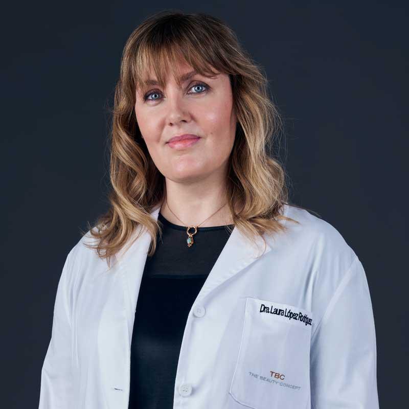 Laura López, dermatóloga y médico estético en The Beauty Concept.