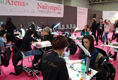 Nailympics: Olimpiadas de las U�as.