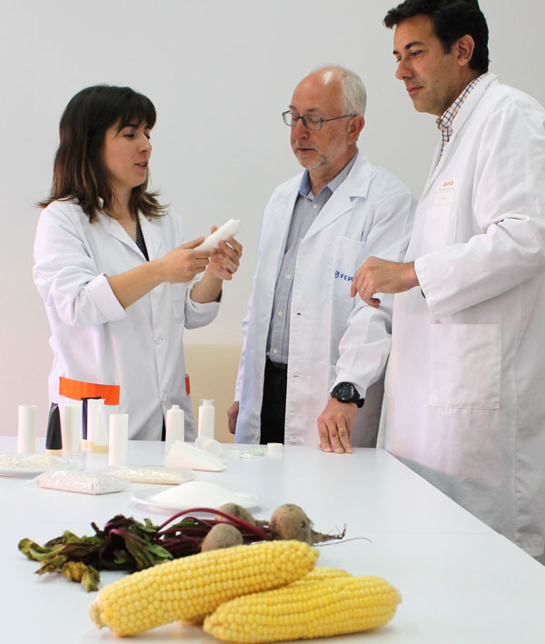 Primer 'biotubo' para cosmética a base de maíz, remolacha y azúcares