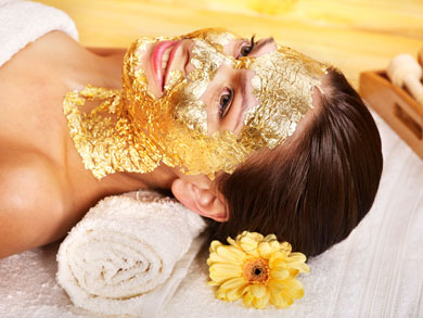 Tratamiento Facial Flash Pre-Boda con oro de 24k.