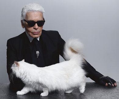 La gata de Karl Lagerfeld presenta su propia l�nea de maquillaje