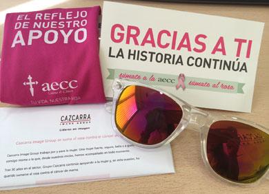 Cazcarra Image Group contra el c�ncer de mama.