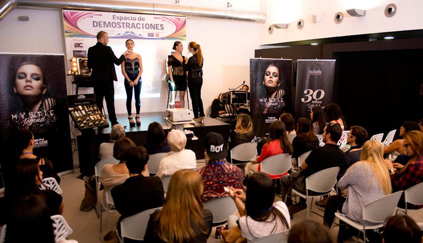 Cazcarra Image Group en Spa and Beauty Barcelona 2014.